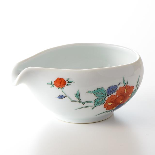 湯さまし 茶器(牡丹)