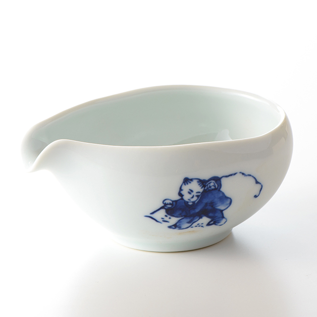 しずく茶 茶器(唐子)