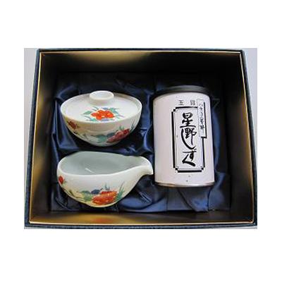 玉露 星野しずく(すすり)茶セット「牡丹」