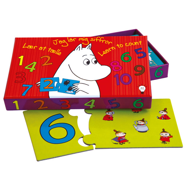 Moomin Barbo Toys - ムーミン バルボトイズ ムーミン学習ゲーム Learn to Count