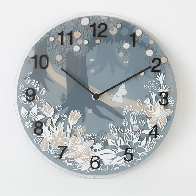 Moomin Timepieces - オリジナルムーミン掛け時計 Moomin in the forest [MTP030008]