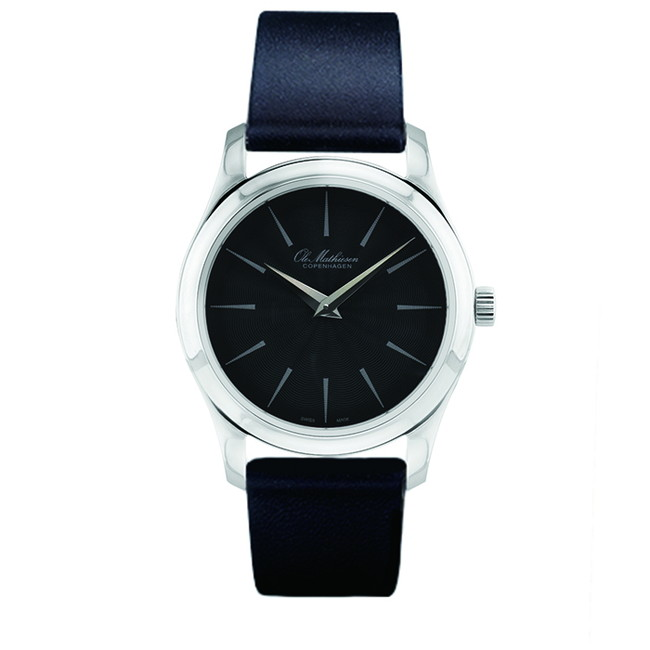 Ole Mathiesen 34mm - 1919 Heritage 34mm Quartz  Arrow/grey dial [OMN020096]
