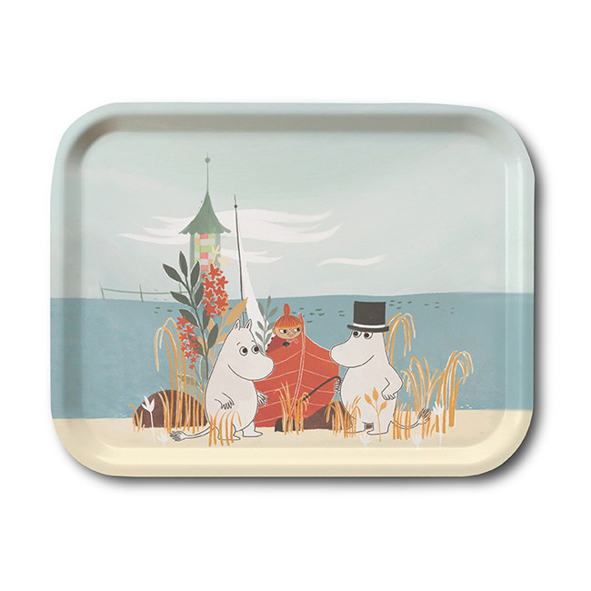 Moomin Opto Design - #OUR SEA MOOMIN  トレイ M  [OPD060044]