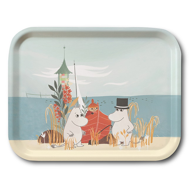 Moomin Opto Design - #OUR SEA MOOMIN  トレイ L  [OPD060045]