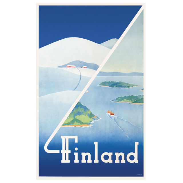 SALE! Come To Finland - カム・トゥ・フィンランド ポスターJ11