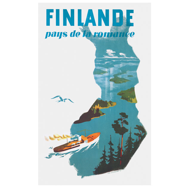 SALE! Come To Finland - カム・トゥ・フィンランド ポスターJ22