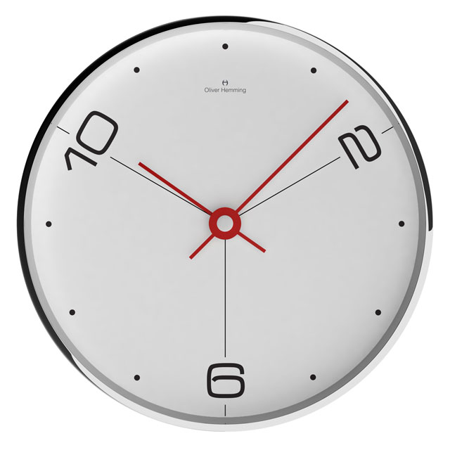 NEW!Oliver Hemming - オリバーヘミングWALL CLOCK 300mm / W300S14WTR