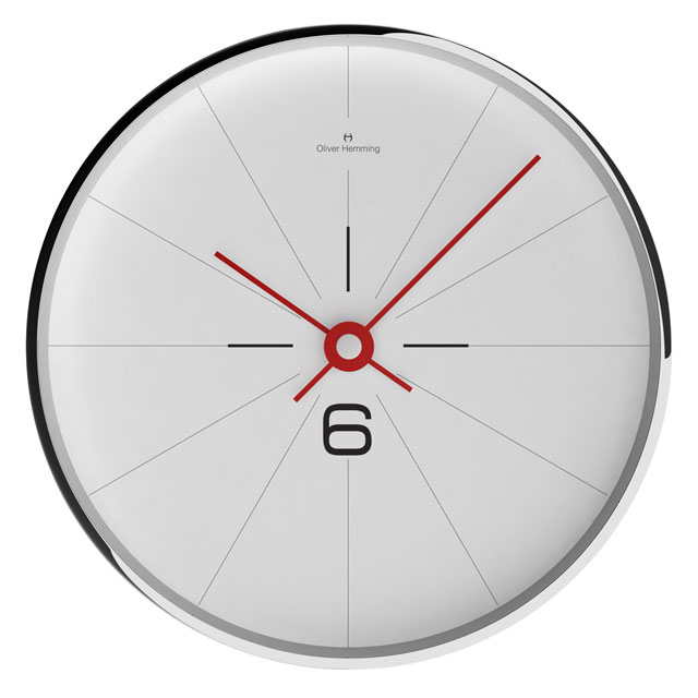 Oliver Hemming - オリバーヘミングWALL CLOCK 300mm / W300S26WTR  [OHG030033]