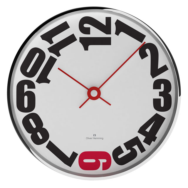 NEW!Oliver Hemming - オリバーヘミングWALL CLOCK 300mm / W300S20WRTR