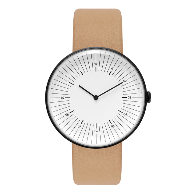 Nomad watches - ノマド 腕時計 OUTLINE BLACK / WHITE / NATURAL