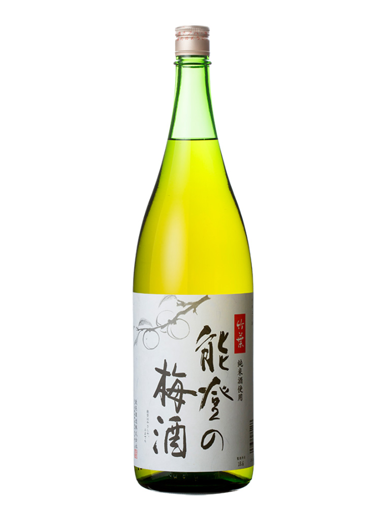 竹葉 能登の梅酒 1800ml