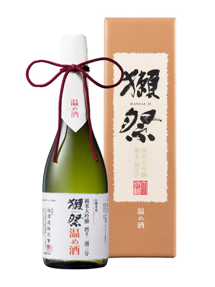 獺祭(だっさい) 純米大吟醸 磨き二割三分 温め酒 720ml 化粧箱入