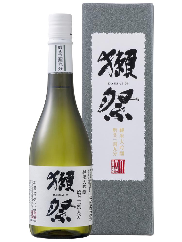 獺祭(だっさい) 純米大吟醸 磨き三割九分 720ml DX箱入り