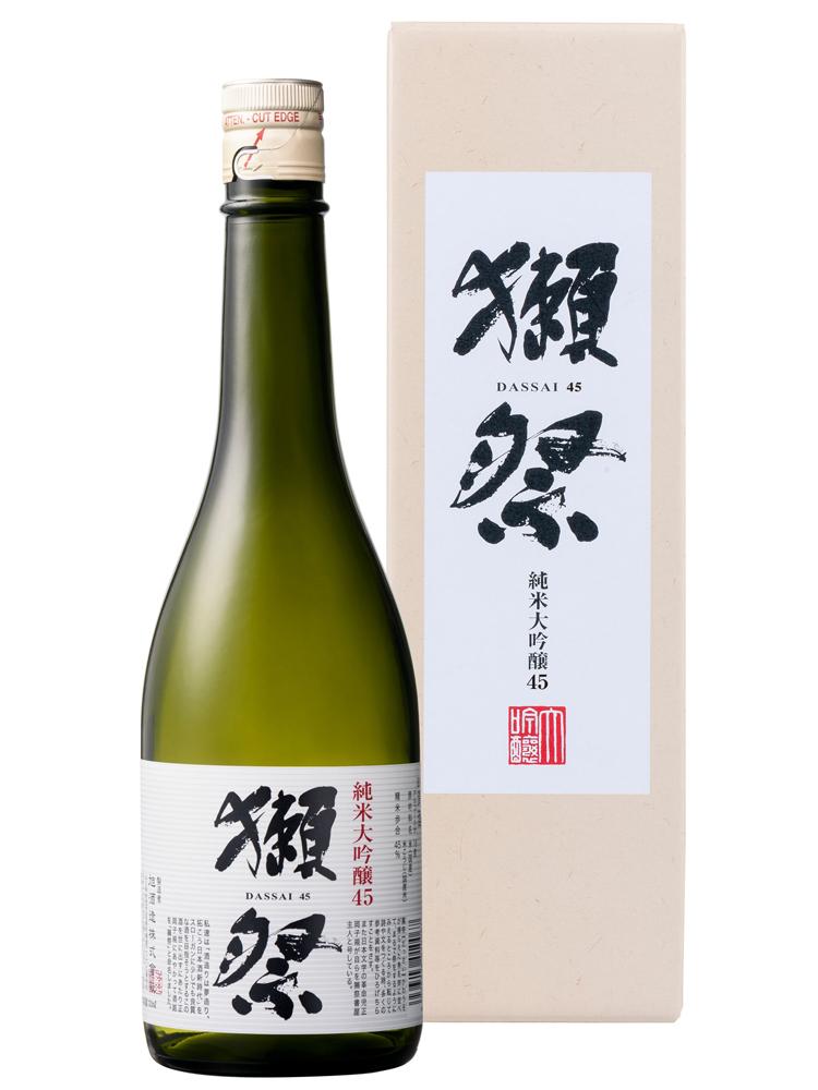 獺祭(だっさい) 純米大吟醸45 720ml 専用カートン入り
