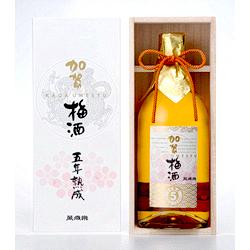 萬歳楽 加賀梅酒 五年熟成 720ml