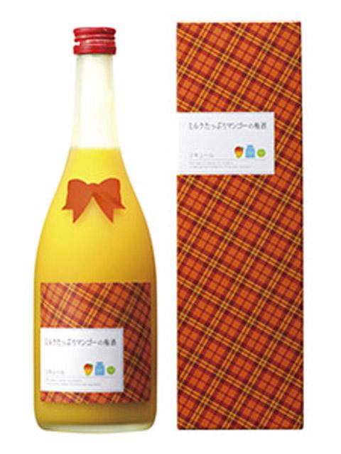 ミルクたっぷりマンゴーの梅酒 720ml