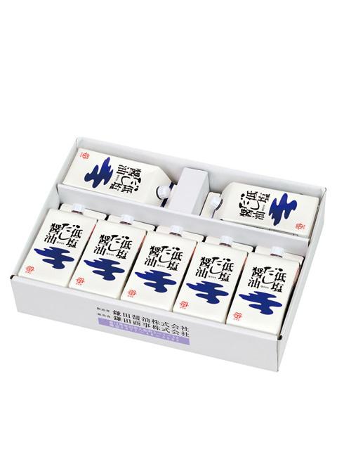 鎌田醤油 低塩だし醤油 200ml 7個セット