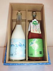 子宝リキュール飲み比べセット(生とろヨーグルト・プレミアムリッチ梅酒)