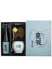 萬寿鏡 特別本醸造 甕覗 黒瓶セット 720ml