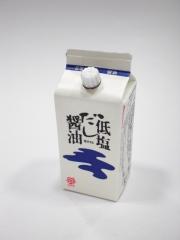 鎌田醤油 低塩だし醤油 200ml
