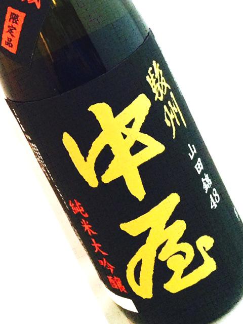 駿州中屋 純米大吟醸 一年熟成1回火入れ 720ml