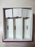 高級化粧箱 4合瓶3本用 ワインレッド