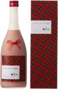 ミルクたっぷりいちごの梅酒 720ml【冬春季限定】