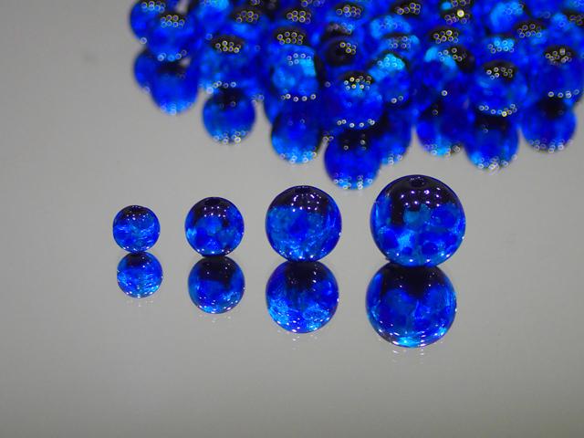 丸玉 黒・スーパーブルー 12mm玉 最安値 1個 160円~ 夜光ホタルガラス【ネコポス便可】