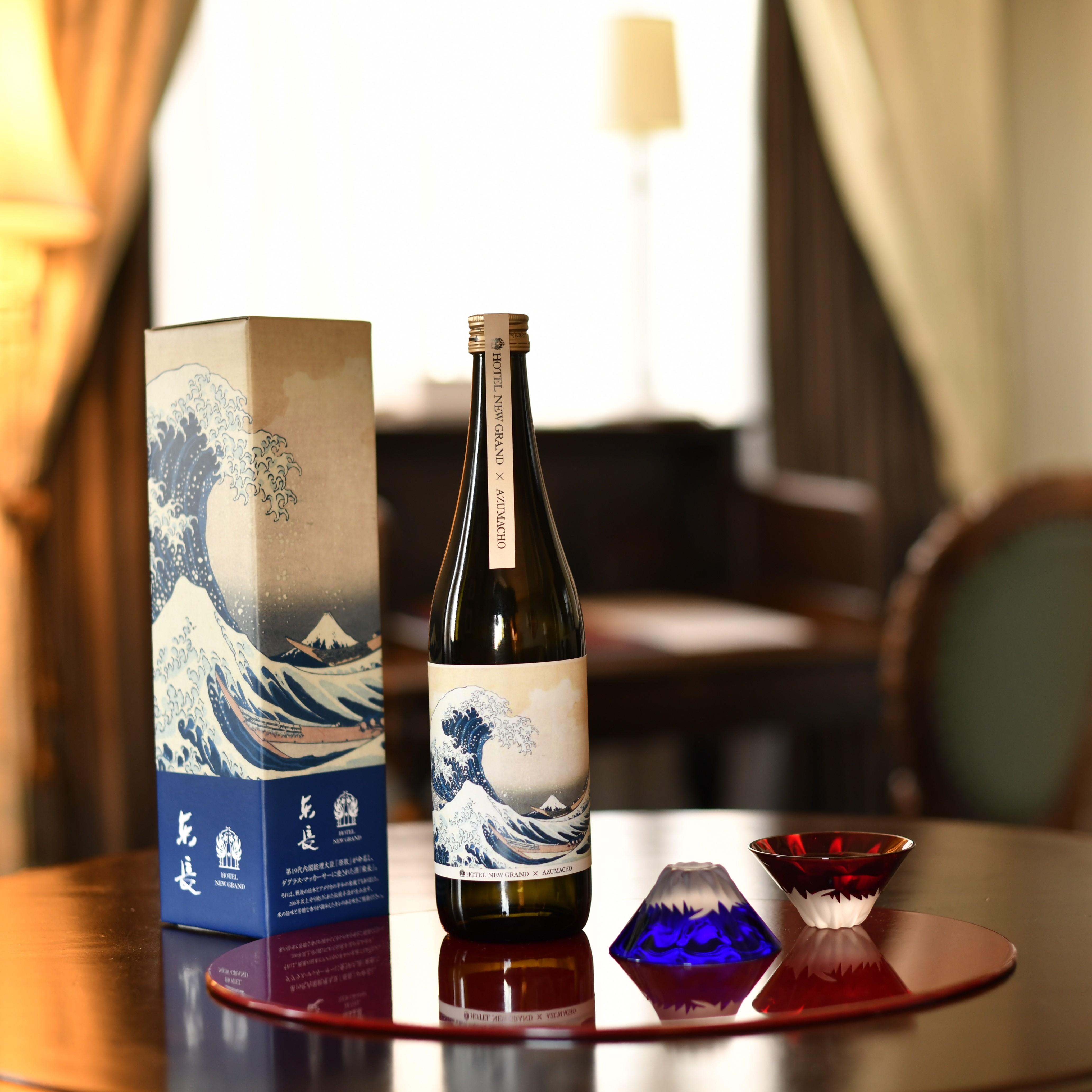 【オリジナルパッケージ誕生◆贈り物にもオススメ】日本酒 純米東長(あずまちょう)