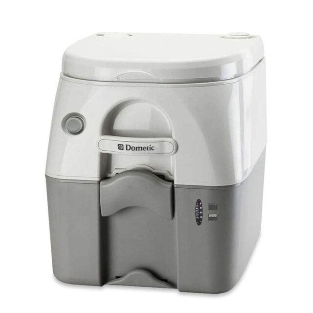 【即納】ポータブルトイレ 976L 持ち運びできる軽量トイレ 簡易トイレ 水洗 アウトドア レジャー キャンプ キャンピングカー 車中泊 緊急時 災害時にも活躍 DOMETIC OUTDOOR