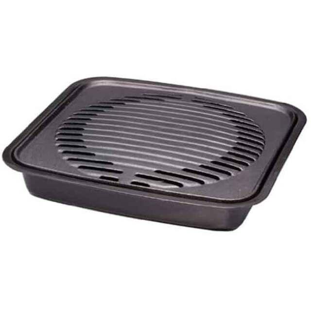 【即納】鉄鋳物製 焼肉グリル  岩谷カセットコンロ カセットフー 達人アクセサリーシリーズ ヘルシーな焼き上がり 岩谷 CB-P-GM
