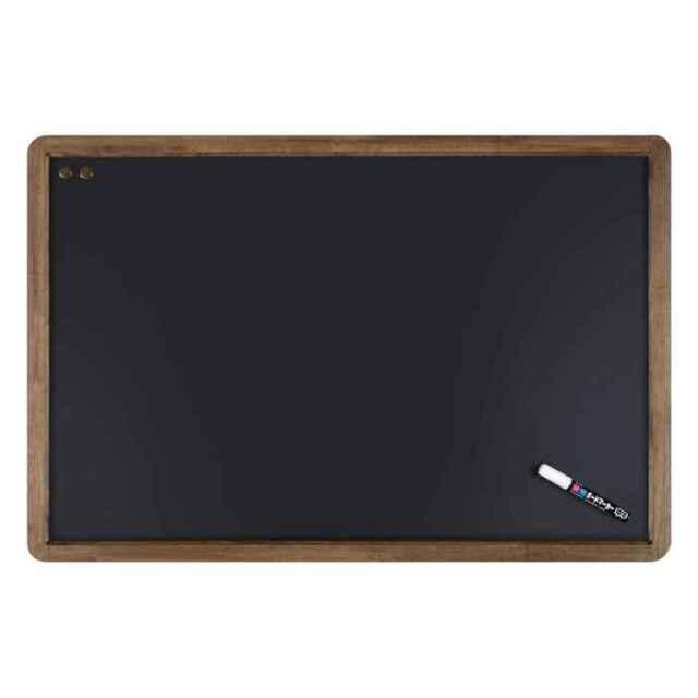 アンティークブラックボード A1サイズ つや消し仕上げ 筆記面サイズW840×H540mm Raymay LNB700