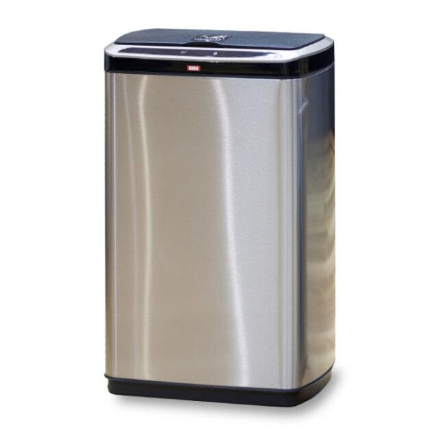 センサー式ゴミ箱 ごみ箱 大容量 50L 非接触 清潔 センサー 振動感知自動開閉 ステンレス製 ゴミ捨てが清潔&ラクラク! Daito DST-50