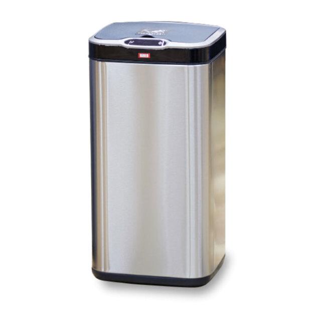 センサー式ゴミ箱 ごみ箱 25L 非接触 清潔 センサー 振動感知自動開閉 ステンレス製 ゴミ捨てが清潔&ラクラク! Daito DST-25