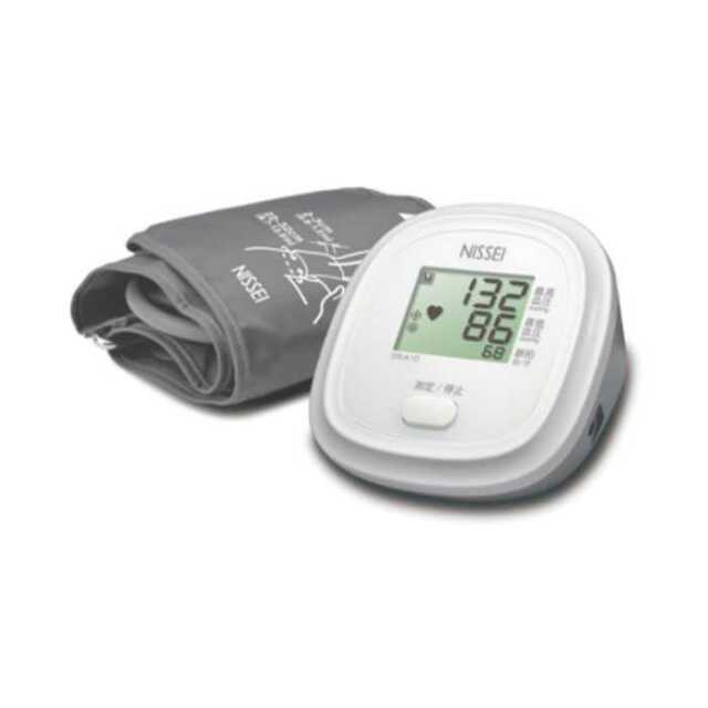 【即納】血圧計 上腕式 デジタル血圧計 大画面 簡単操作 シンプルな操作 スイッチ1つ 使いやすい血圧計 NISSEI 日本精密測器 DS-A10