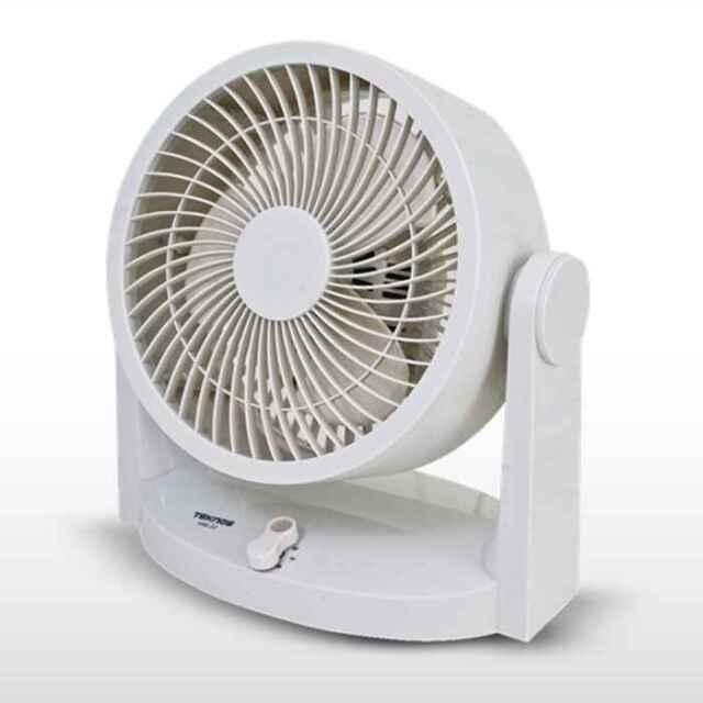 サーキュレーター 扇風機 メカ式 18cm3枚羽根 風量3段階切替 上下角度調節 ホワイト テクノス SAK-23