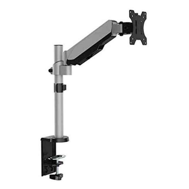 小型モニターアーム デスク取り付けタイプ 17~32V型 シルバー テレビ TV モニター アーム Swing DAR-001