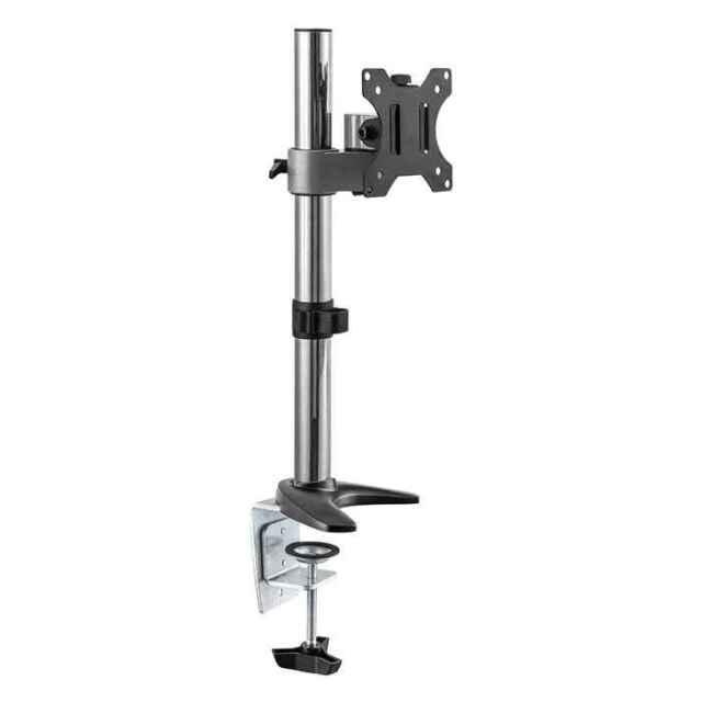 小型モニターアーム デスク取り付けタイプ 13~32V型 シルバー テレビ TV モニター アーム Swing DAR-003