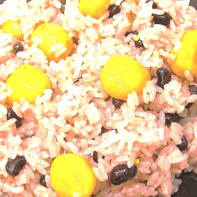 寿楽祭 栗赤飯