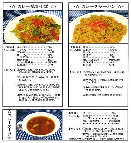 カレー調味料レシピ2