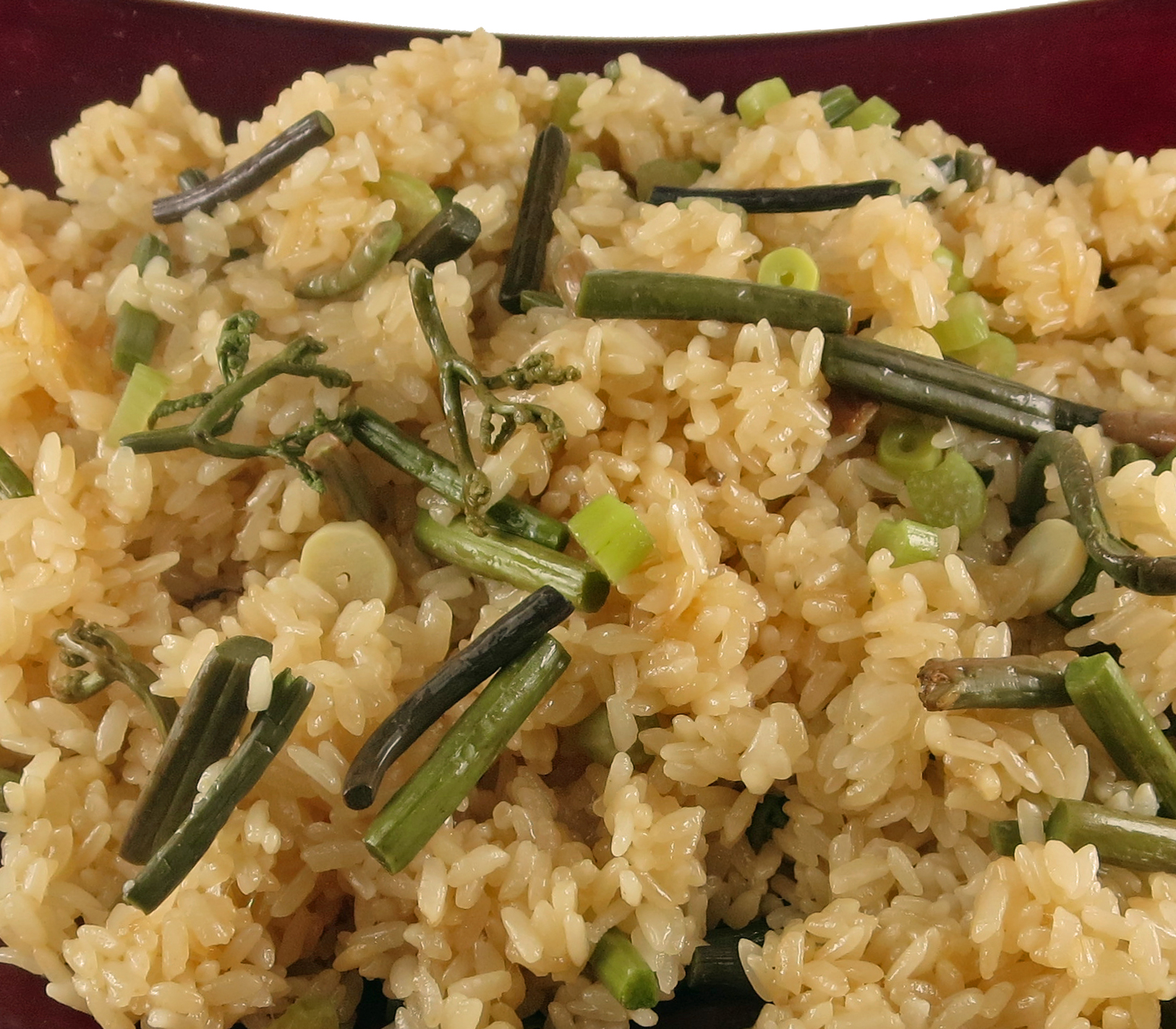 寿楽祭 山菜