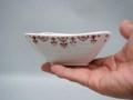 九谷赤絵角小鉢