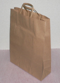 手提袋(茶/Lサイズ)の写真