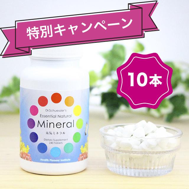 【特別キャンペーン】元気ミネラル 10本セット(海外発送・送料込)