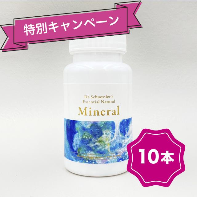 【特別キャンペーン】ドクターシュスラーズ・ミネラル 10本セット(送料込)