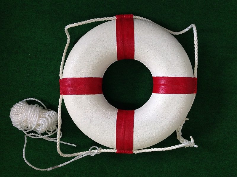 【一点限り】高階救命器具 レジャー用救命浮環 P-2