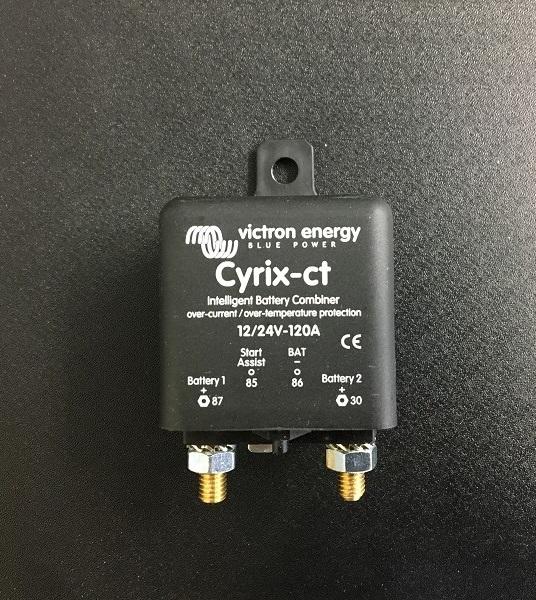 【victron energy】バッテリーコンバイナー cyrix-ct 12/24v 120A