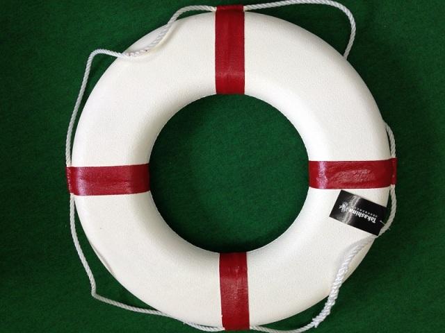 【一点限り】高階救命器具 レジャー用救命浮環 P-1