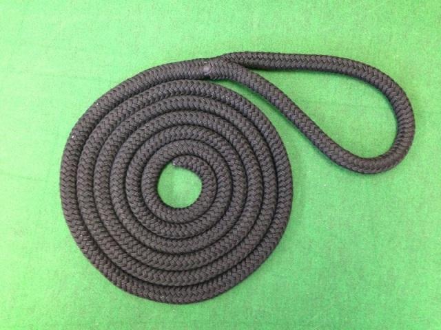 【スプライス加工済】ブラックラインロープ 22mmφ×4.5m