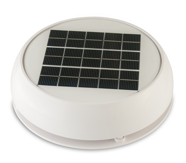 【NICRO】ソーラーベンチレーター DAY & NIGHT 4インチ PLカバー